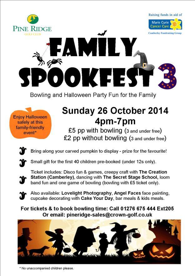 Family Spookfest poster 2014 final