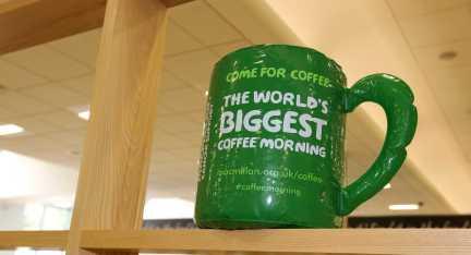 Macmillan Coffee Morning & Flash Mob 14