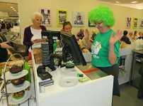 Macmillan Coffee Morning & Flash Mob 8