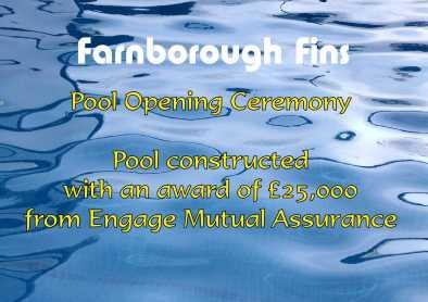Farnborough Fins pool opening 1