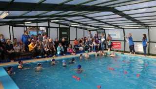 Farnborough Fins pool opening 10