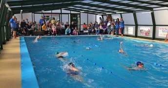 Farnborough Fins pool opening 15