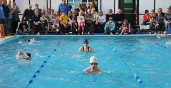 Farnborough Fins pool opening 16