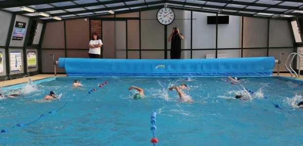 Farnborough Fins pool opening 21