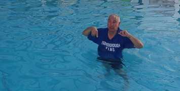 Farnborough Fins pool opening 36