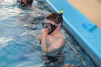 Farnborough Fins pool opening 41