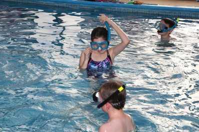 Farnborough Fins pool opening 42