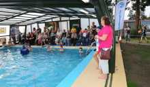 Farnborough Fins pool opening 48