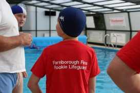Farnborough Fins pool opening 49