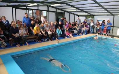 Farnborough Fins pool opening 7
