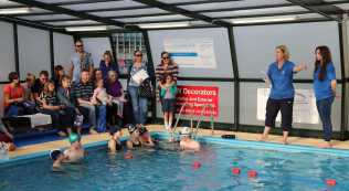 Farnborough Fins pool opening 9