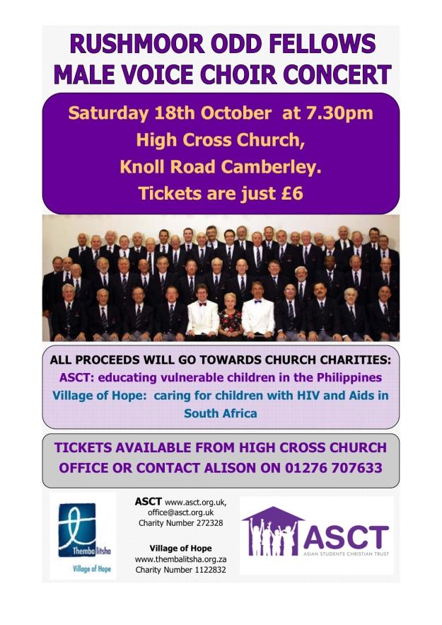 Rushmoor Odd Fellows Choir Concert - High Cross