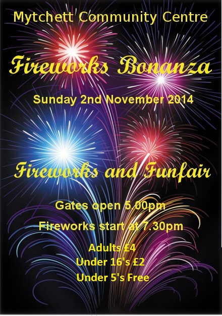 Fireworks Bonanza at the Mytchett Centre