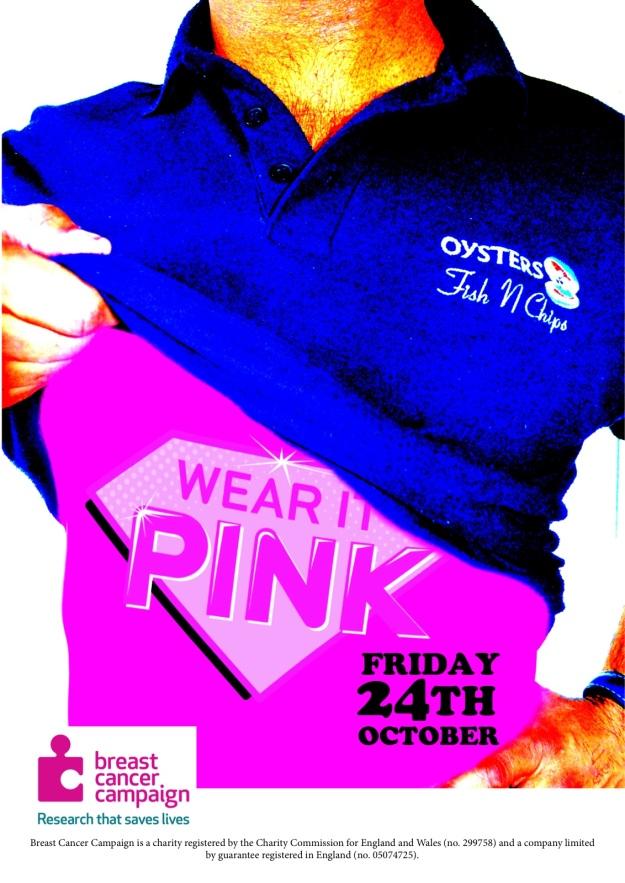 Wear it Pink 2014 - Oysters