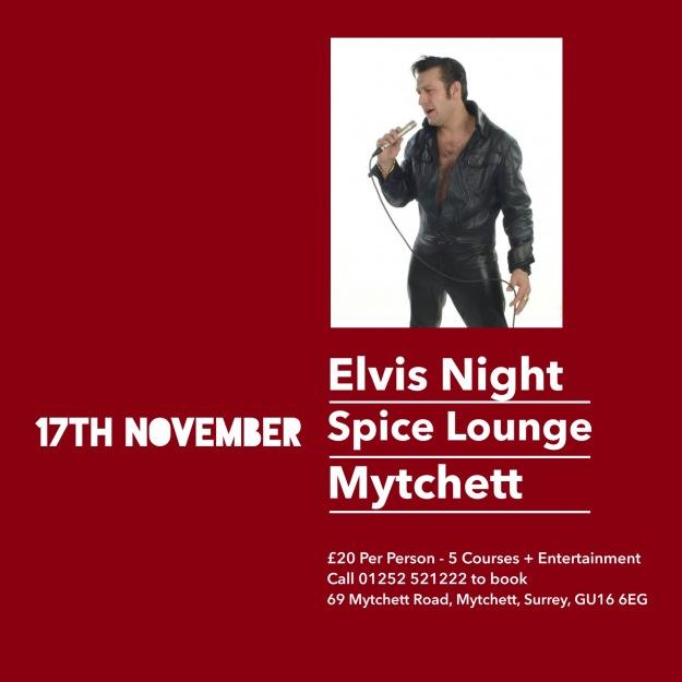 Spice Lounge Elvis Night - 17 Nov 2014