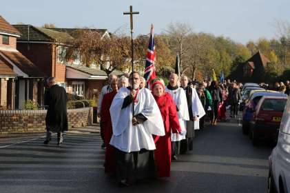 Lightwater Remembrance 2014 - 22