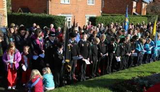 Lightwater Remembrance 2014 - 45