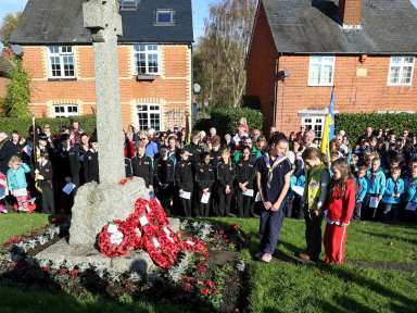 Lightwater Remembrance 2014 - 53