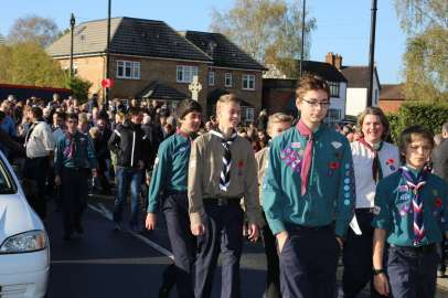 Lightwater Remembrance 2014 - 67