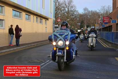 A5 Scooterists Toy run to FPH 1