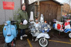 A5 Scooterists Toy run to FPH 12