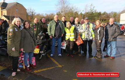 A5 Scooterists Toy run to FPH 13