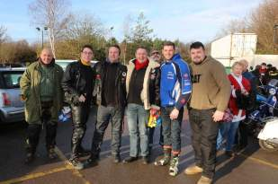 A5 Scooterists Toy run to FPH 14
