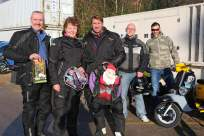 A5 Scooterists Toy run to FPH 17