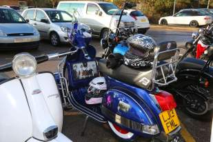 A5 Scooterists Toy run to FPH 19