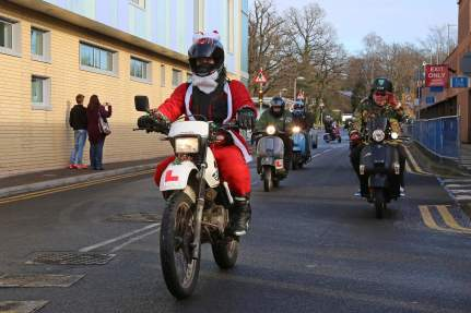 A5 Scooterists Toy run to FPH 4
