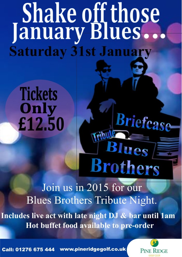 Blues Brothers at Pine Ridge Golf Club - Jan 2015
