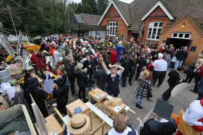 Windlesham Pram Race - Alan Meeks 72