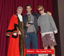Windlesham Pram Race - Alan Meeks 80
