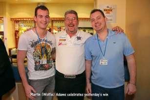 Darts Sunday afternoon - Alan Meeks 36
