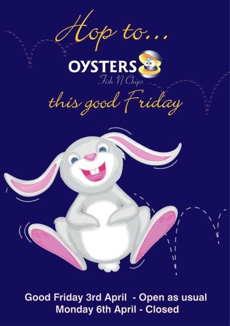 Oysters Easter 2015
