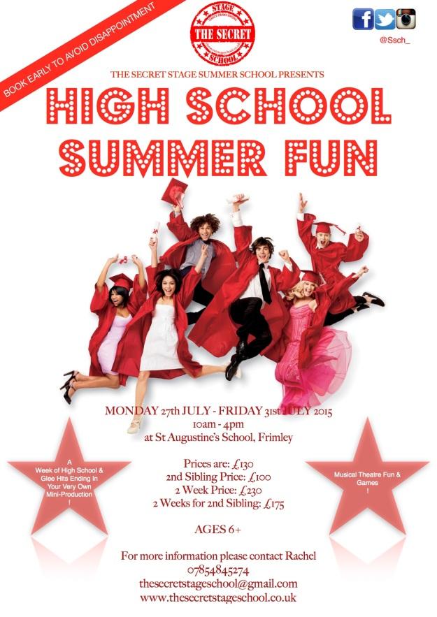 High School Summer Fun 2015