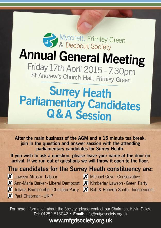 MFGD Society Public Meeting Poster 17 April 2015 p1