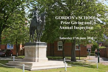 Gordon's School Inspection & Prizes 1