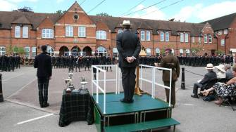 Gordon's School Inspection & Prizes 21