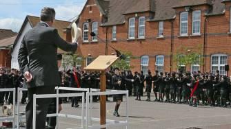 Gordon's School Inspection & Prizes 22