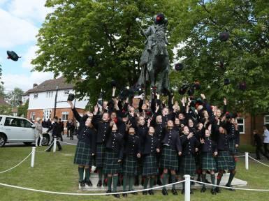 Gordon's School Inspection & Prizes 35