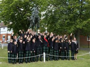 Gordon's School Inspection & Prizes 36
