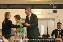Gordon's School Inspection & Prizes 37