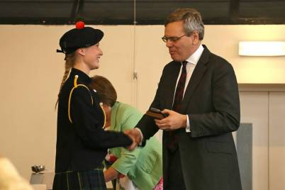 Gordon's School Inspection & Prizes 40