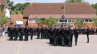 Gordon's School Inspection & Prizes 48