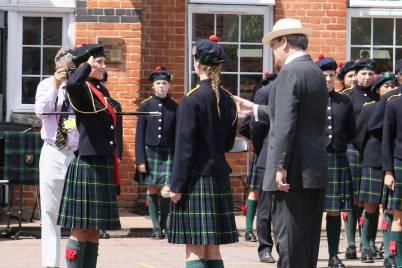 Gordon's School Inspection & Prizes 52