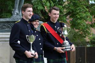 Gordon's School Inspection & Prizes 64