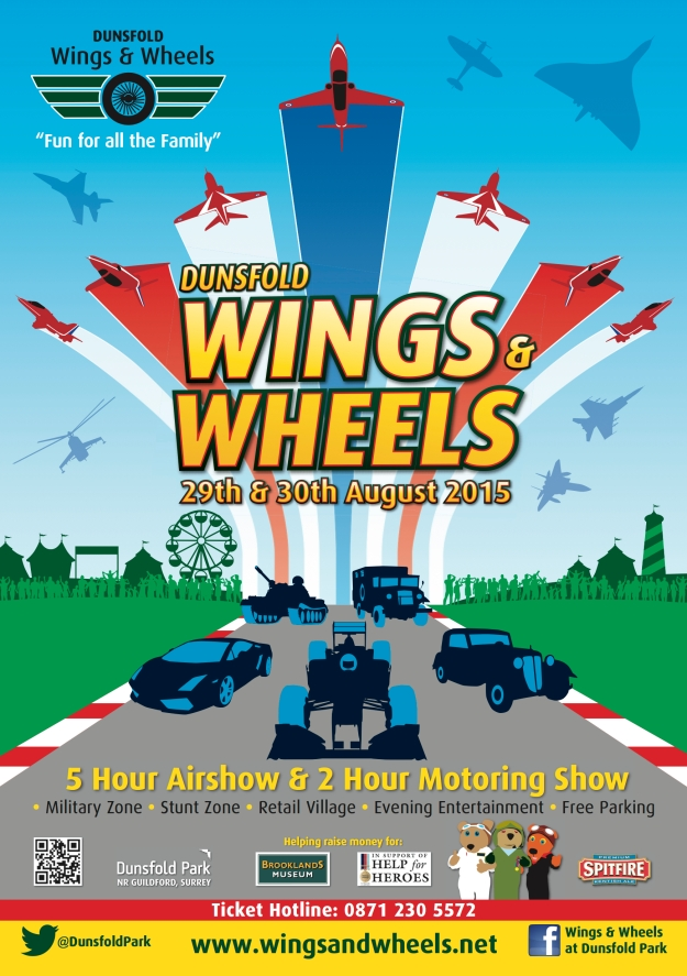 Wings and Wheels 2015
