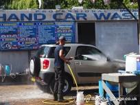 Deepcut Garage Charity Car Wash - August 2015 - 11