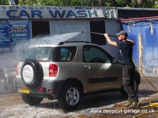 Deepcut Garage Charity Car Wash - August 2015 - 16